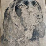 oil painting cocker spaniel