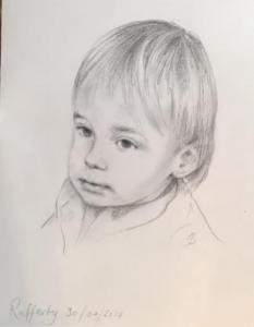 Baby in charcoal 3