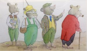 The four mice painting